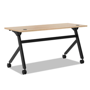 ESBSXBMPT6024PW - Multipurpose Table Flip Base Table, 60w X 24d X 29 3-8h, Wheat