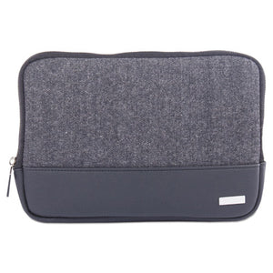 "ESBUGTAC1420 - Matt Tablet Sleeve, 7.5"" X 0.75"" X 7.5"", Polyester, Black-gray"