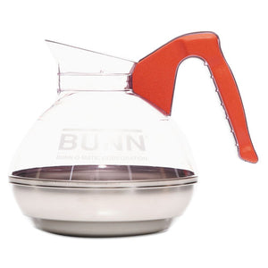 ESBUN6101 - 64 Oz. Easy Pour Decanter, Orange Handle