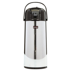 ESBUNAIRPOT22 - 2.2 Liter Push Button Airpot, Stainless Steel