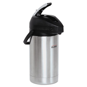 ESBUNAIRPOT30 - 3 Liter Lever Action Airpot, Stainless Steel-black