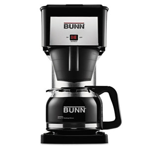 ESBUNBXB - 10-Cup Velocity Brew Bx Coffee Brewer, Black, Stainless Steel