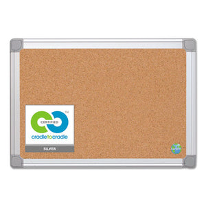 ESBVCCA021790 - Earth Cork Board, 18x24, Aluminum Frame