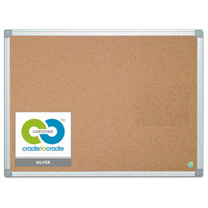 ESBVCCA051790 - Earth Cork Board, 36 X 48, Aluminum Frame