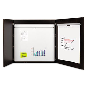 ESBVCCAB01010143 - Conference Cabinet, Porcelain Magnetic, Dry Erase, 48 X 48, Ebony
