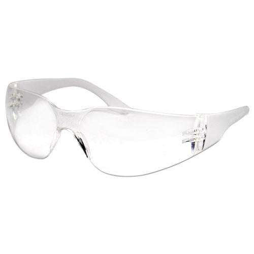 ESBWK00022 - Safety Glasses, Clear Frame-clear Lens, Anti-Fog, Polycarbonate, Dozen