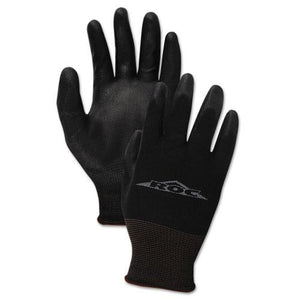 ESBWK0002810 - Pu Palm Coated Gloves, Black, Size 10 (x-Large), 1 Dozen