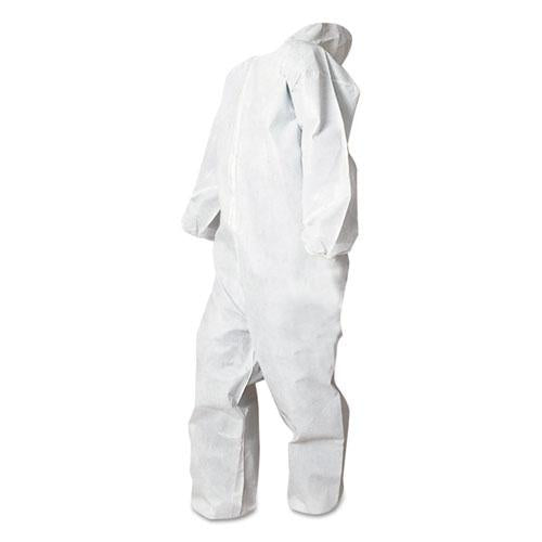 ESBWK00032S - Disposable Coveralls, White, Small, Polypropylene, 25-carton