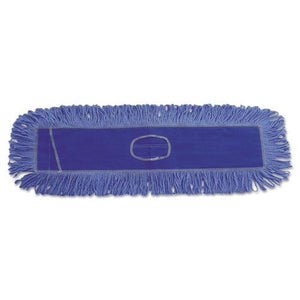 ESBWK1136 - Dust Mop Head, Cotton-synthetic Blend, 36 X 5, Looped-End, Blue