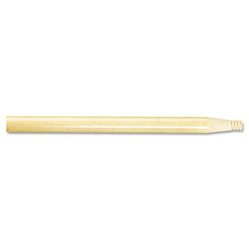 "ESBWK122 - Threaded End Broom Handle, 15-16"" X 60"", Natural Wood"