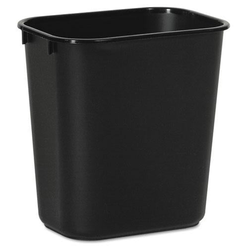 ESBWK14QTWBBLA - Soft-Sided Wastebasket, 14qt, Plastic, Black