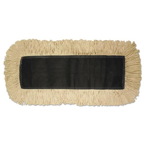 ESBWK1618 - Disposable Dust Mop Head, Cotton, 18w X 5d