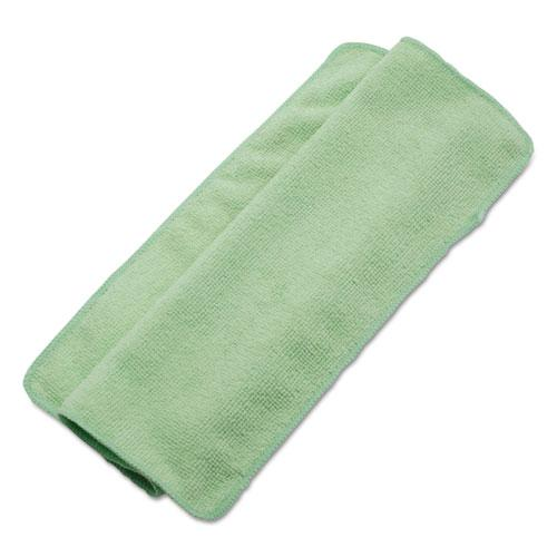 ESBWK16GRECLOTH - Lightweight Microfiber Cleaning Cloths, Green,16 X 16, 24-pack