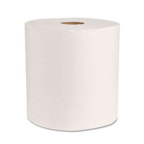 "ESBWK17GREEN - Boardwalk Green Universal Roll Towels, Natural White, 8""x800ft, 6 Rolls-carton"