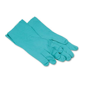 ESBWK183XL - Nitrile Flock-Lined Gloves, X-Large, Green, Dozen