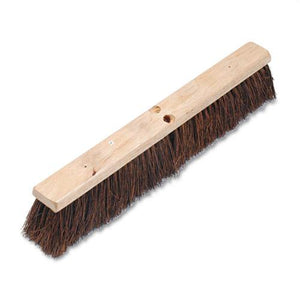 "ESBWK20124 - Floor Brush Head, 3 1-4"" Natural Palmyra Fiber, 24"""