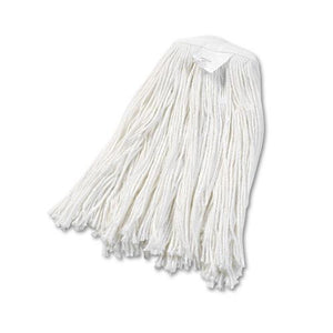 ESBWK2020REA - Cut-End Wet Mop Head, Rayon, No. 20, White
