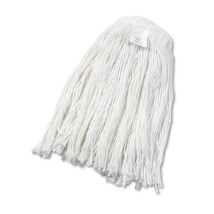 ESBWK2024RCT - Cut-End Wet Mop Head, Rayon, No. 24, White, 12-carton