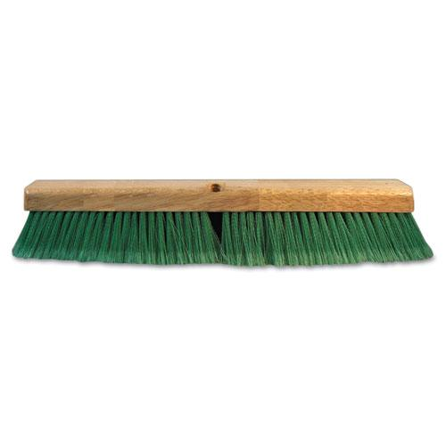 "ESBWK20724 - Push Broom Head, 3"" Green Flagged Recycled Pet Plastic, 24"""