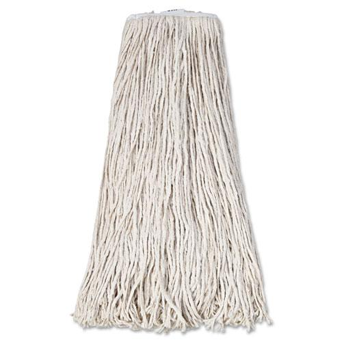 ESBWK232C - Mop Head, Premium Standard Head, Cotton Fiber, 32oz, White, 12-carton