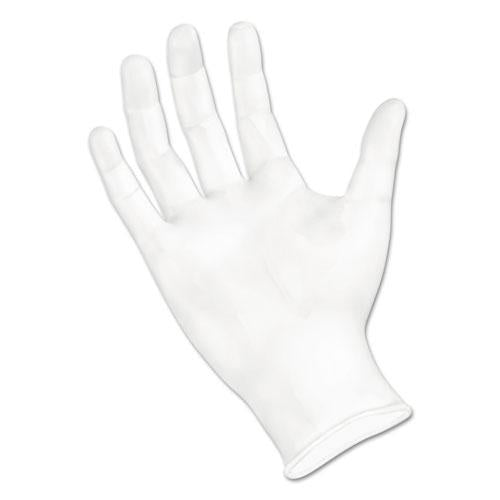 ESBWK361SBX - Exam Vinyl Gloves, Powder-latex-Free, 3 3-5 Mil, Clear, Small, 100-box