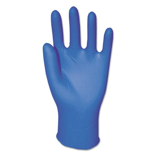 ESBWK395LCT - Disposable Powder-Free Nitrile Gloves, Large, Blue, 5 Mil, 1000-carton