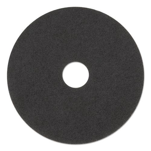 "ESBWK4015BLA - STRIPPING FLOOR PADS, 15"" DIAMETER, BLACK, 5-CARTON"