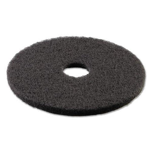 "ESBWK4016BLA - STRIPPING FLOOR PADS, 16"" DIAMETER, BLACK, 5-CARTON"