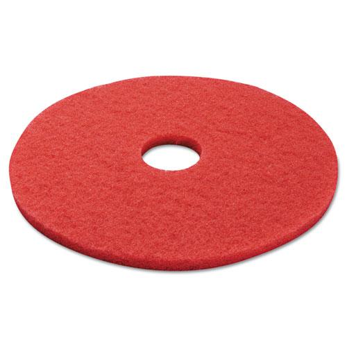 "ESBWK4017RED - BUFFING FLOOR PADS, 17"" DIAMETER, RED, 5-CARTON"