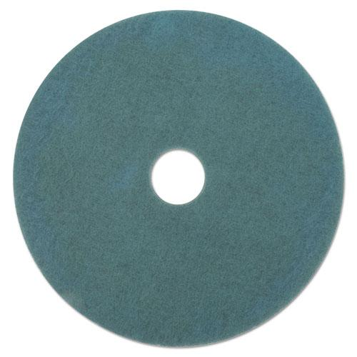 "ESBWK4019AQU - AQUA BURNISHING FLOOR PADS, 19"" DIAMETER, 5-CARTON"