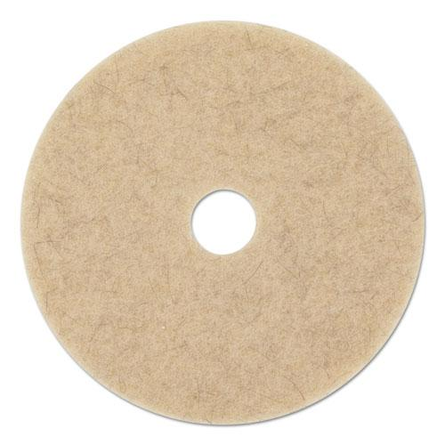 "ESBWK4019NHE - NATURAL HOG HAIR BURNISHING FLOOR PADS, 19"" DIAMETER, 5-CARTON"