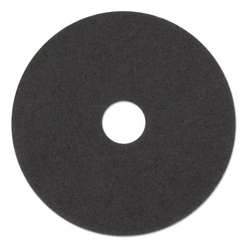 "ESBWK4020HIP - HIGH PERFORMANCE STRIPPING FLOOR PADS, 20"" DIAMETER, GRAYISH BLACK, 5-CARTON"