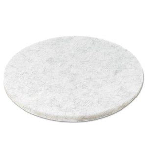 "ESBWK4020NAT - NATURAL WHITE BURNISHING FLOOR PADS, 20"" DIAMETER, 5-CARTON"