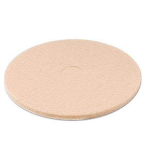 "ESBWK4020ULT - TAN BURNISHING FLOOR PADS, 20"" DIAMETER, 5-CARTON"