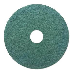"ESBWK4021AQU - AQUA BURNISHING FLOOR PADS, 21"" DIAMETER, 5-CARTON"