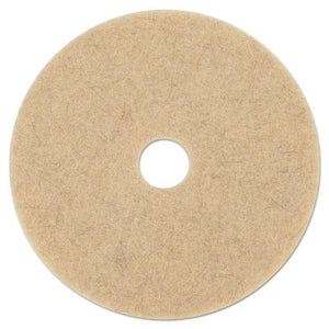 "ESBWK4021NHE - NATURAL HOG HAIR BURNISHING FLOOR PADS, 21"" DIAMETER, 5-CARTON"