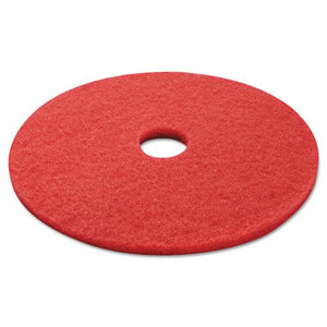 "ESBWK4021RED - BUFFING FLOOR PADS, 21"" DIAMETER, RED, 5-CARTON"