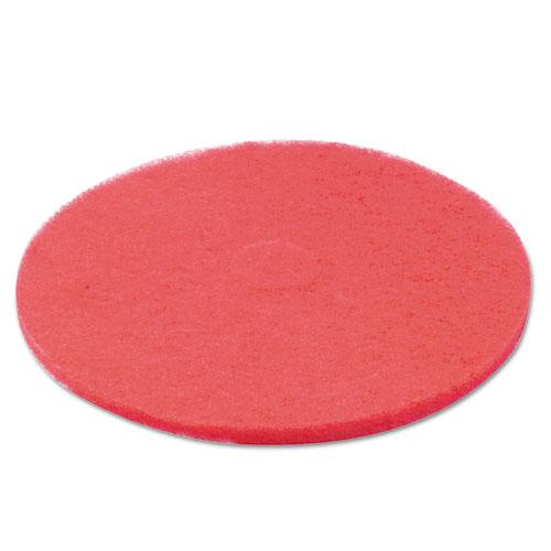 "ESBWK4022RED - BUFFING FLOOR PADS, 22"" DIAMETER, RED, 5-CARTON"