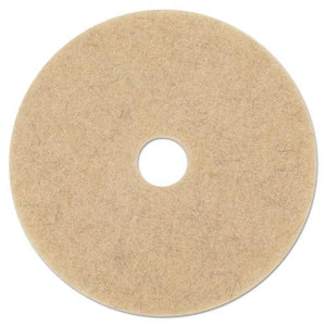 "ESBWK4024NHE - NATURAL HOG HAIR BURNISHING FLOOR PADS, 24"" DIAMETER, 5-CARTON"