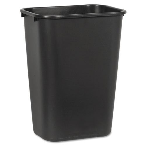 ESBWK41QTWBBLA - Soft-Sided Wastebasket, 41 Qt, Plastic, Black