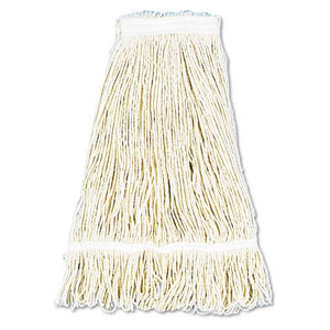 ESBWK424CCT - Pro Loop Web-tailband Wet Mop Head, Cotton, 24oz, White, 12-carton