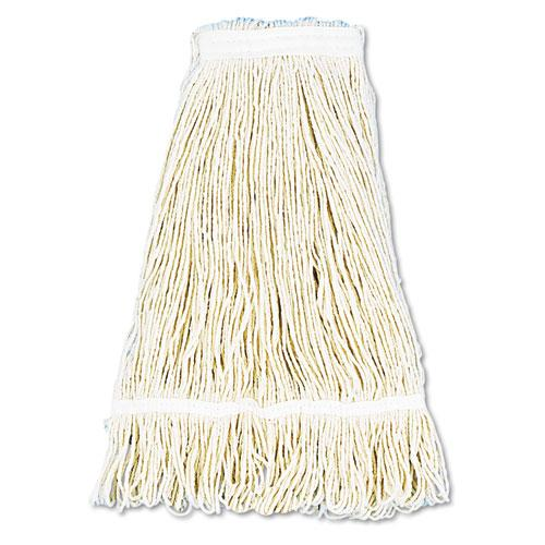 ESBWK424CEA - Pro Loop Web-tailband Wet Mop Head, Cotton, 24oz, White