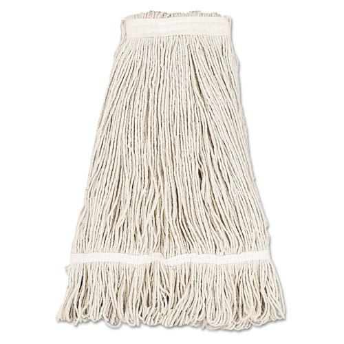 ESBWK432C - Mop Head, Pro Loop Web-tailband, Premium Standard Head, Cotton, 32-Oz., White