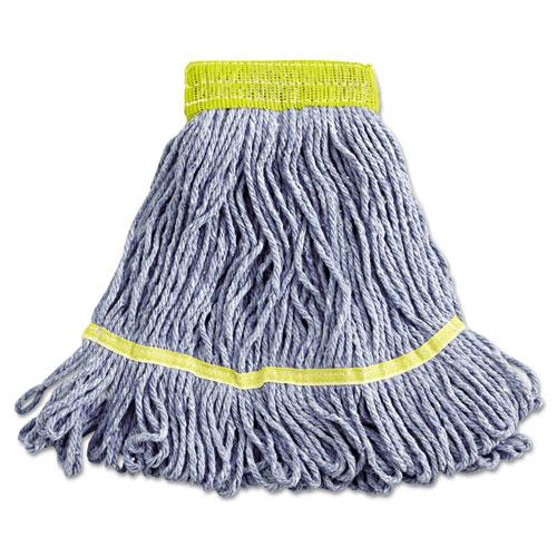 ESBWK501BL - Super Loop Wet Mop Heads, Cotton-synthetic, Small Size, Blue