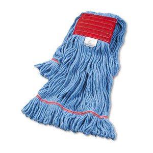 ESBWK503BLEA - Super Loop Wet Mop Head, Cotton-synthetic, Large Size, Blue