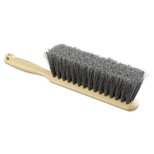 "ESBWK5408 - Counter Brush, Flagged Polypropylene Fill, 8"" Long, Tan Handle"