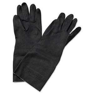 "ESBWK543XL - Neoprene Flock-Lined Gloves, Long-Sleeved, 12"", X-Large, Black, Dozen"