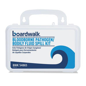 "ESBWK54865 - Bloodborne Pathogen Kit, 30 Pieces, 3"" X 8"" X 5"", White"