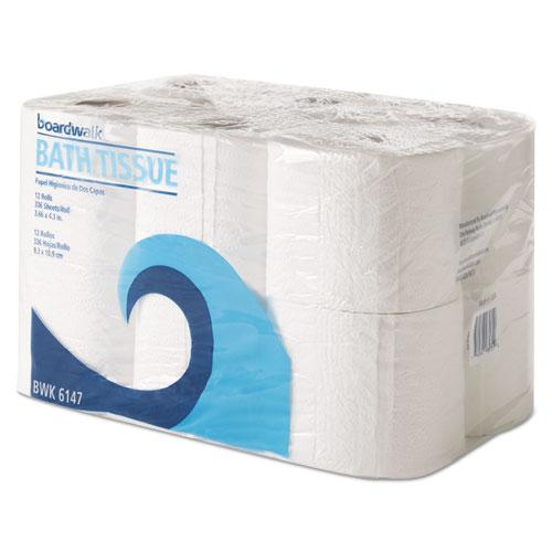 ESBWK6147 - Office Packs Toilet Tissue, 2-Ply,white, 4x4 Sheet, 300 Sheets-roll, 72 Rolls-ct