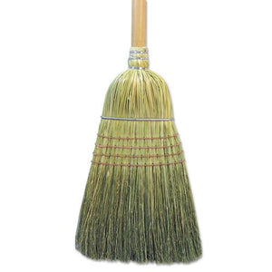 "ESBWK932CEA - Warehouse Broom, Corn Fiber Bristles, 56"" Overall Length, Natural"